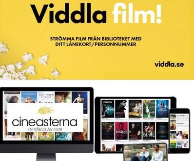 Strömmad film med Cineasterna och Viddla