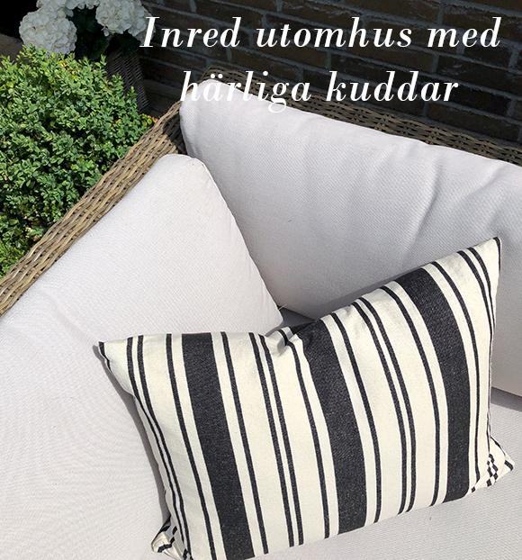 Kudde i soffa