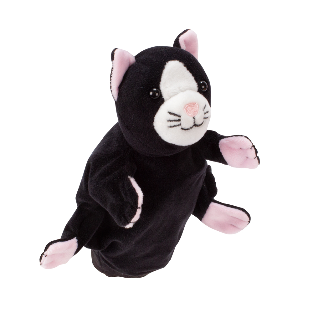 Handdocka Katt
