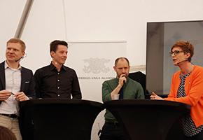 Panel på Vetenskapsfestivalen 2016