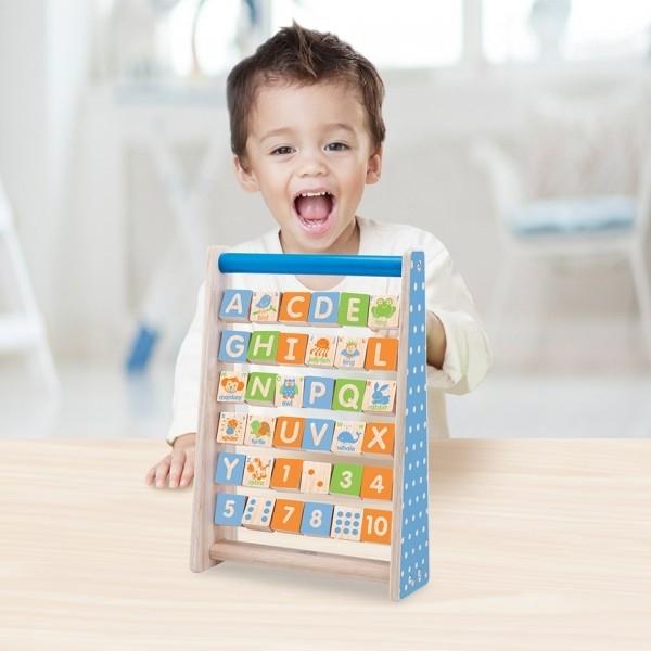 Alfabets- och räkneram