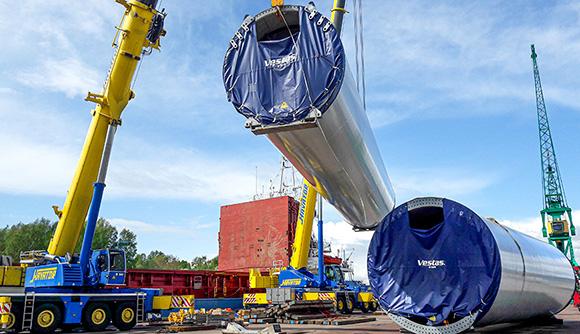 Nytt kundanpassat lagertält till ArcelorMittal BE Group