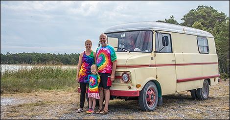 Hippiefamiljen på Gotland
