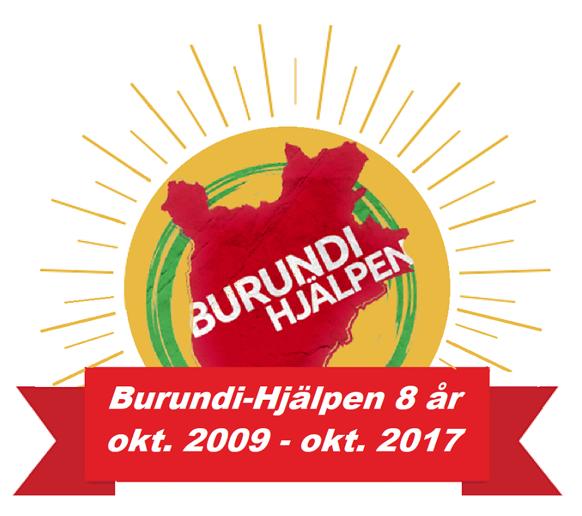 Burundi-Hjälpen 8 år
