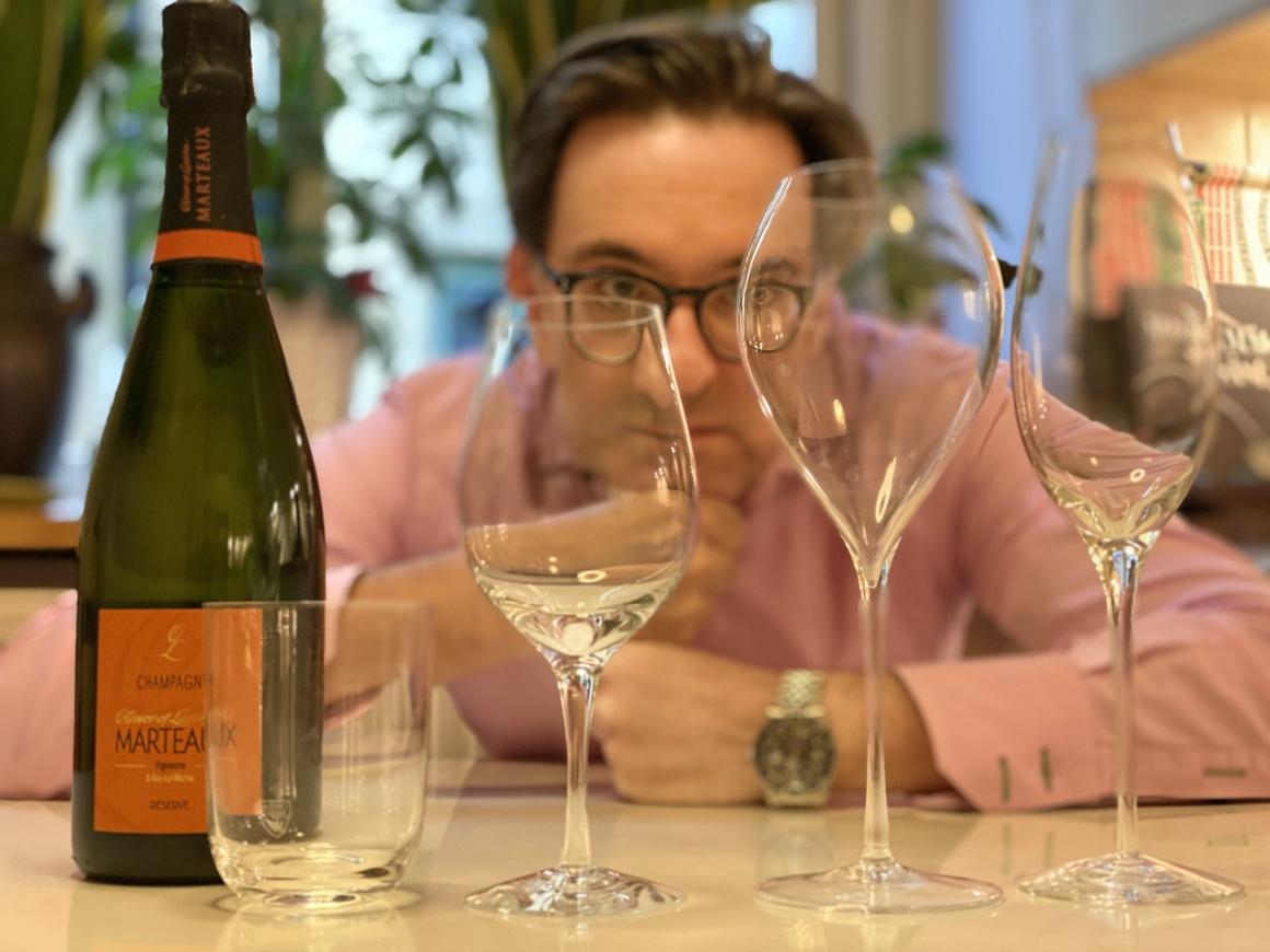 Corona vs Champagne: Onlineprovning den 7 april