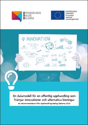 Omslaget till rekommendationen om innovationsupphandling