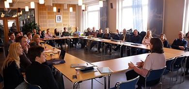 Akademimöte i Stockholm