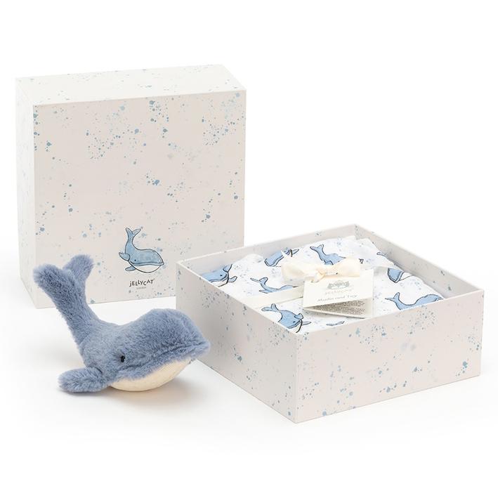 Wilbur Whale Presentlåda