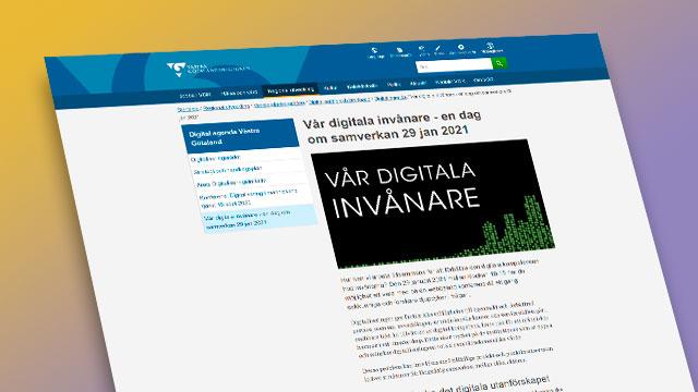 Skärmbild från konferensens hemsida