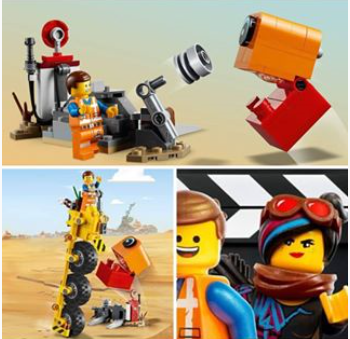 LEGO Movie 70823 Emmets trehjuling!