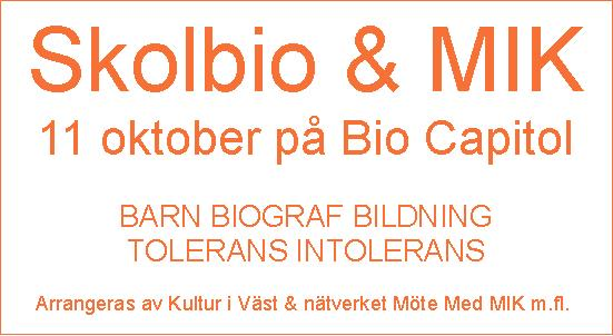 Skolbio & MIK