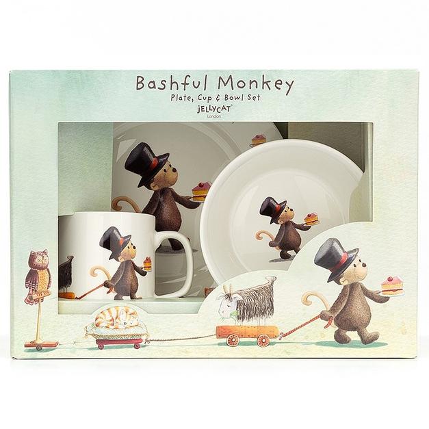 Barnservis, Bashful Monkey