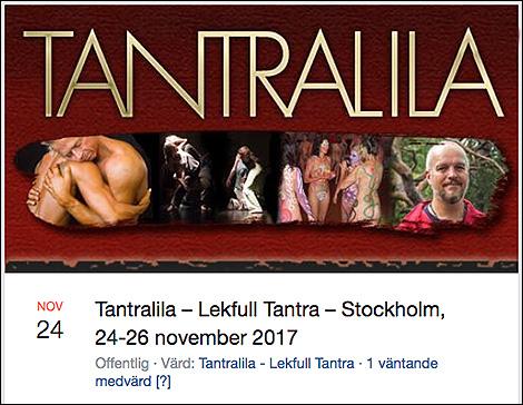 TANTRALILA på Facebook