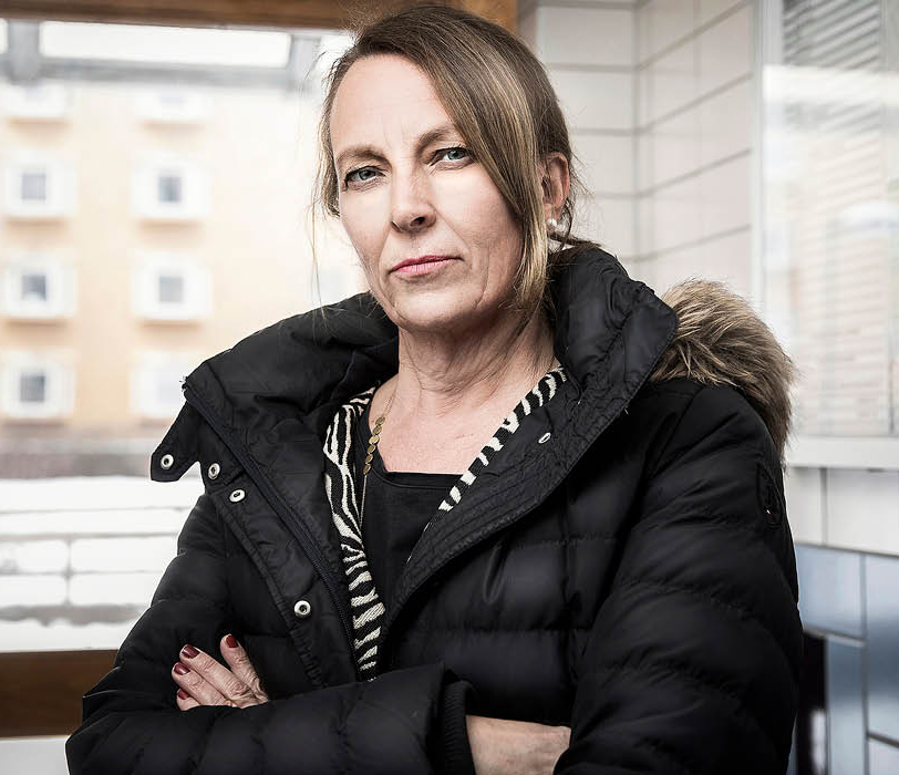 Catarina Johansson Nyman, vd Skärholmen Fastighetsägare. Foto: Jennifer Glans
