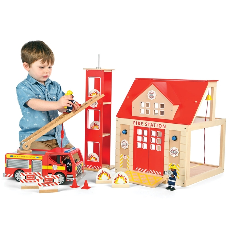 Brandstation Fire Station Set