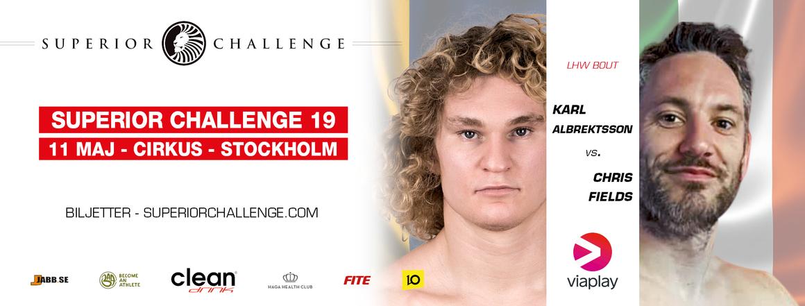 Karl Albrektsson vs Chris Fields Superior Challenge 19 Cirkus