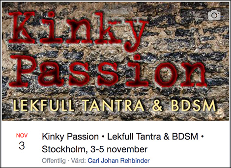 Kinky Passion Facebookevent