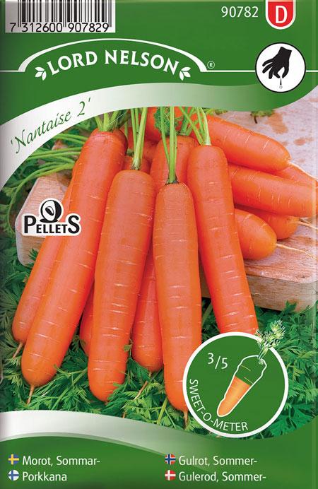 0905027 DAUCUC carota L Porkkana 'Nantaise 2'