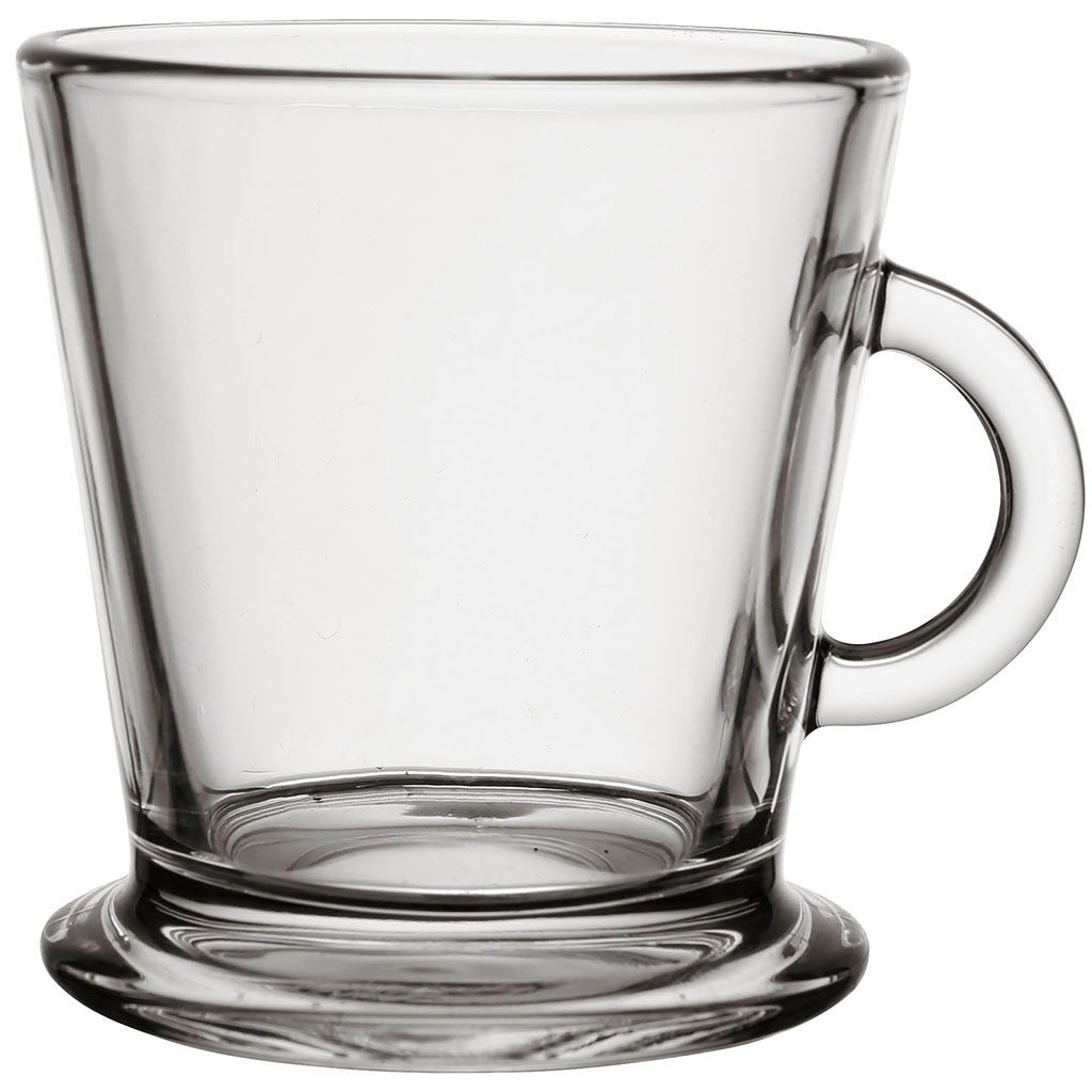 Kaffekopp i glas