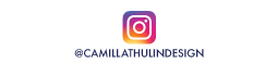 Instagram @camillathulindesign