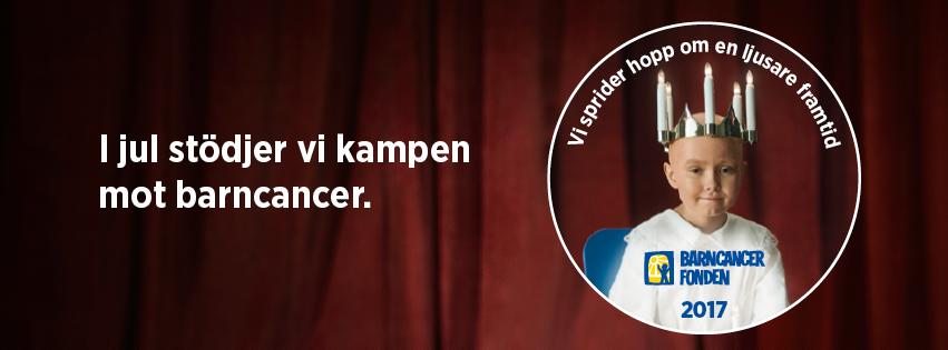 I jul stöder Vänerhamn kampen mot barncancer