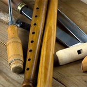 Spelpipor och verktyg