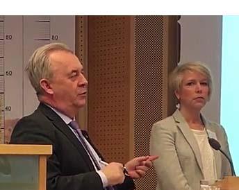 Sven-Erik Bucht och Helena Jonsson, LRF
