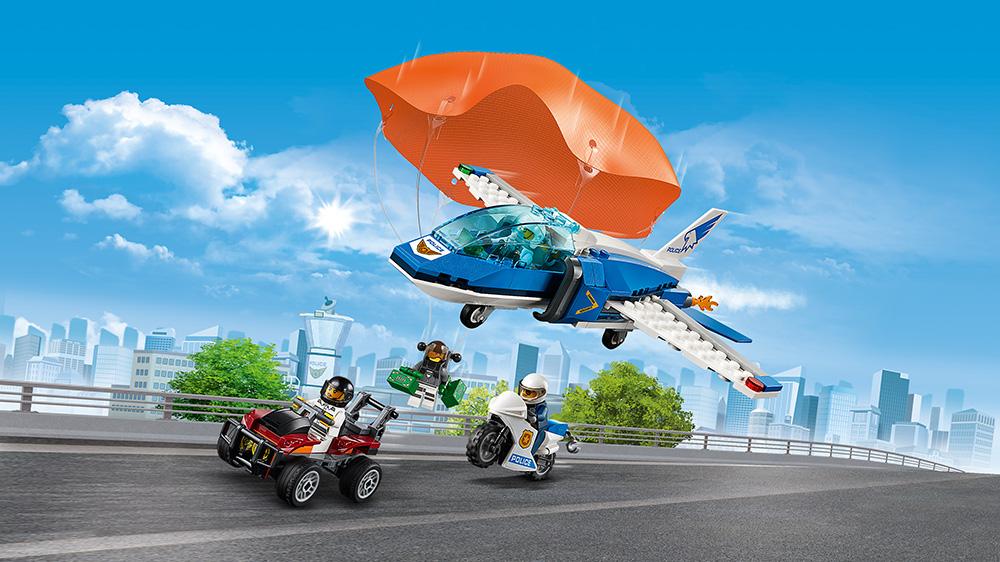 LEGO City 60208 Luftpolisens Fallskärmsarrest