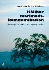 Omslag till boken Hållbar marknadskommunikation
