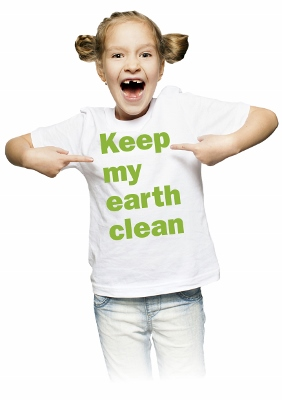 Framtidsveckans tjej, Keep my earth clean