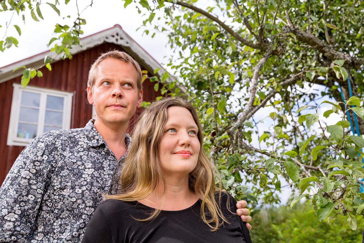 Ola Rosling och Anna Rosling Rönnlund, foto Jann Lipka