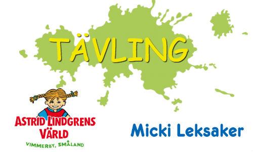 Vinn biljetter till Astrid Lindgrens värld