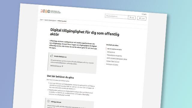 Bild av DIGGs sida