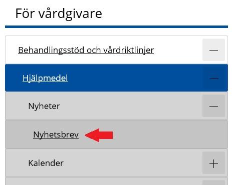 Hjälpmedel Västerbotten nyhetsbrev