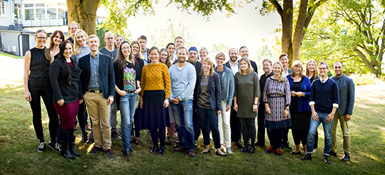 Gruppbild akademin. Foto: Erik Thor/SUA