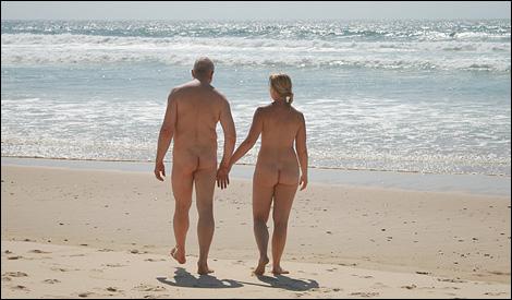 Calle & Jennie på stranden