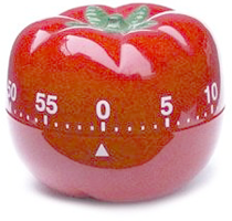 Tomatformad äggklocka