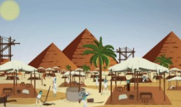 Bibelhistorier: Mose  Egypten och de tio plågorna