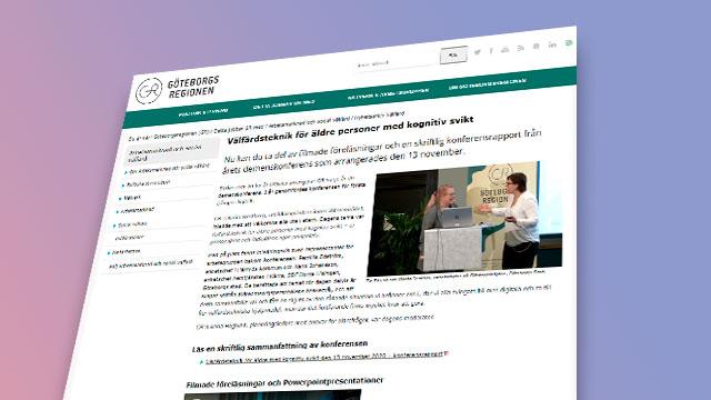 Bild på konferensens hemsida