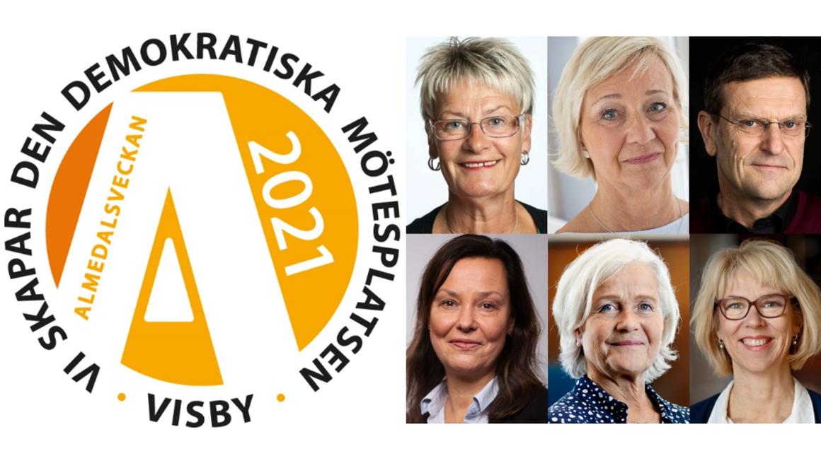 Inger Ros, Lisbeth Löpare-Johansson, Eric Carlström, Anna Nergårdh, Brita Winsa och Ulrika Winblad
