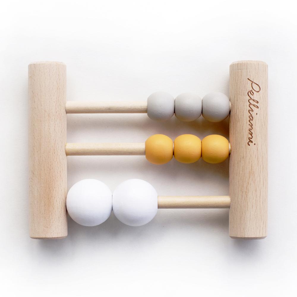 Abacus mini Mustard