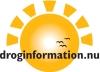 Bild på sol-loggan för Droginformation.nu.