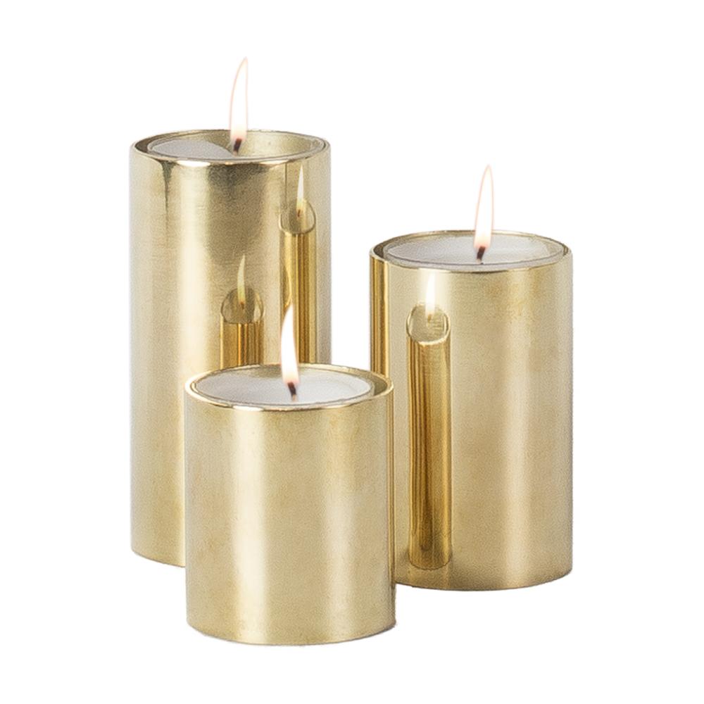 Set med 3 ljusstakar från Olsson & Jensen