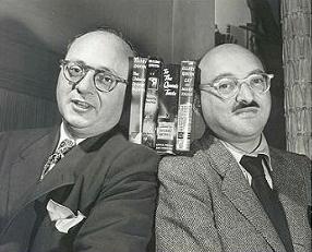 Manfred B. Lee och Frederic Dannay (alias Ellery Queen)