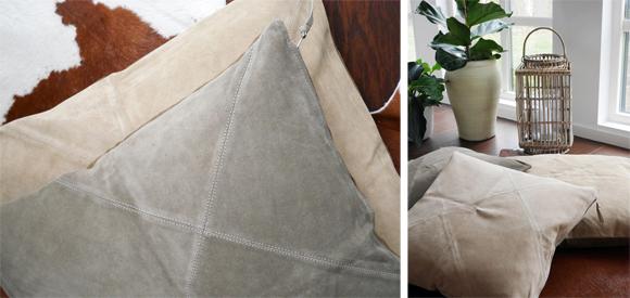 Mockakuddar för golv och soffa