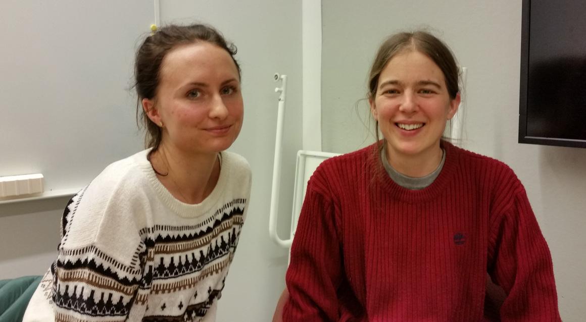 Elin Sundström och Cecilia Kronqvist
