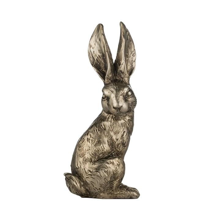 Kanin Semina, h12 cm, antikguld - Lene Bjerre 89 kr