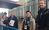 UNESCO delegation Photo: Maria Lindholm