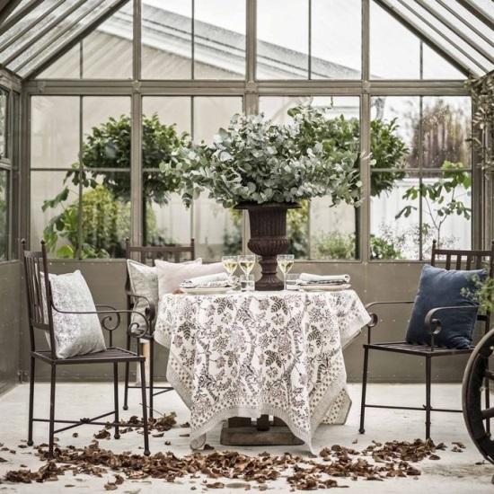 Dukning i växthus