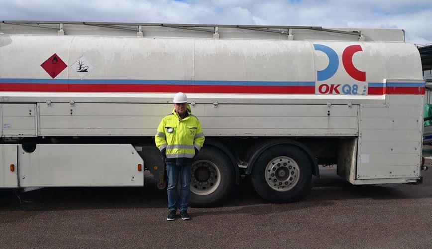 Ny oljedepå i Karlstads Hamn